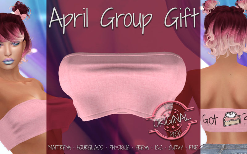 April Group Gift :: Karlie Top [Got Pie]