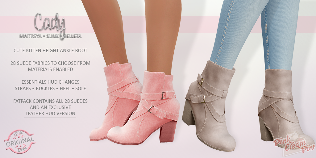 4Mesh Release :: Cady Boots
