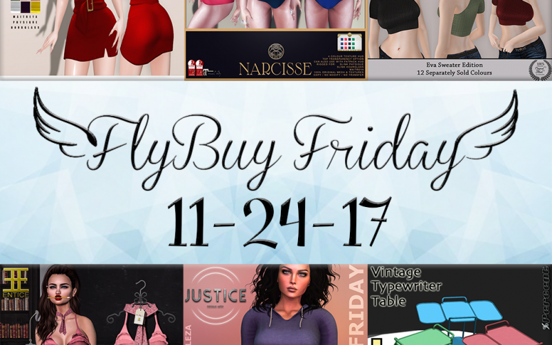 Fly Buy Fridays Catalog – Nov. 24