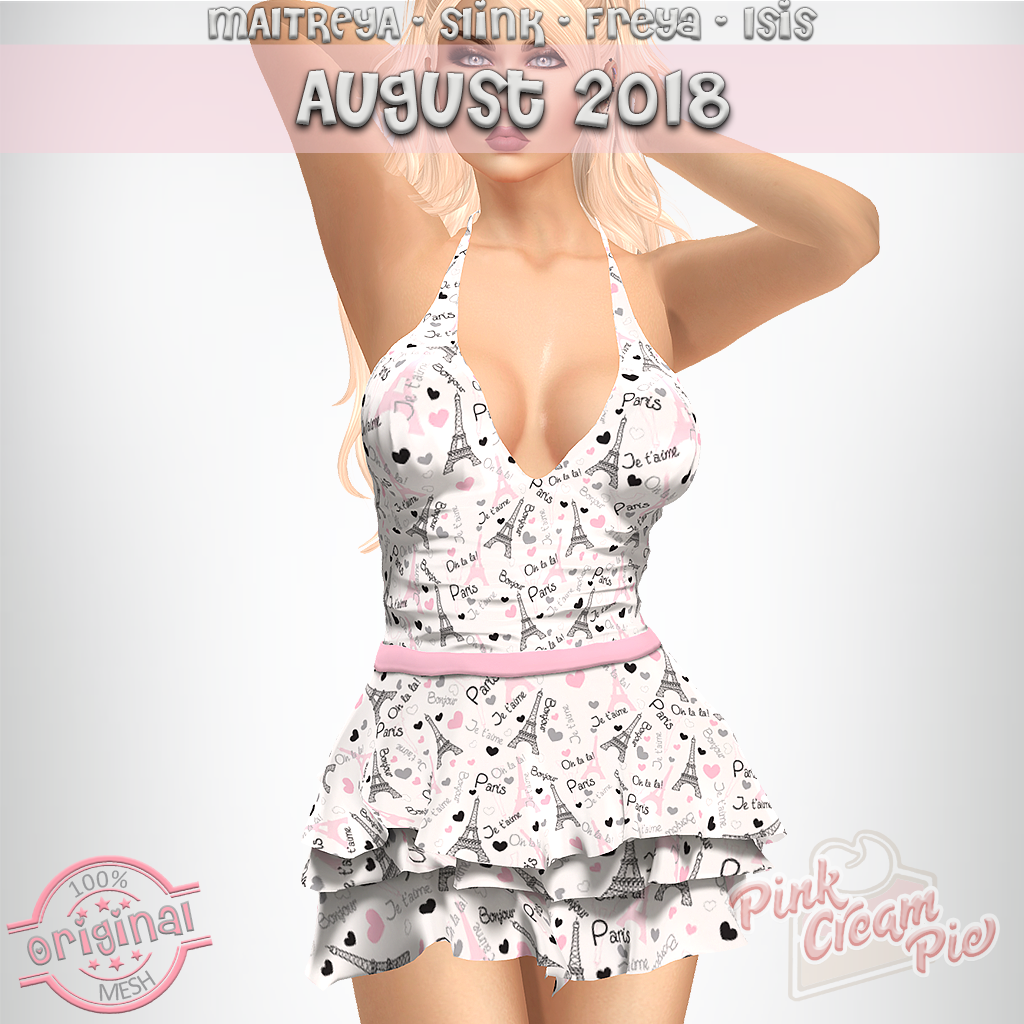 AUGUST GROUP GIFT 2018