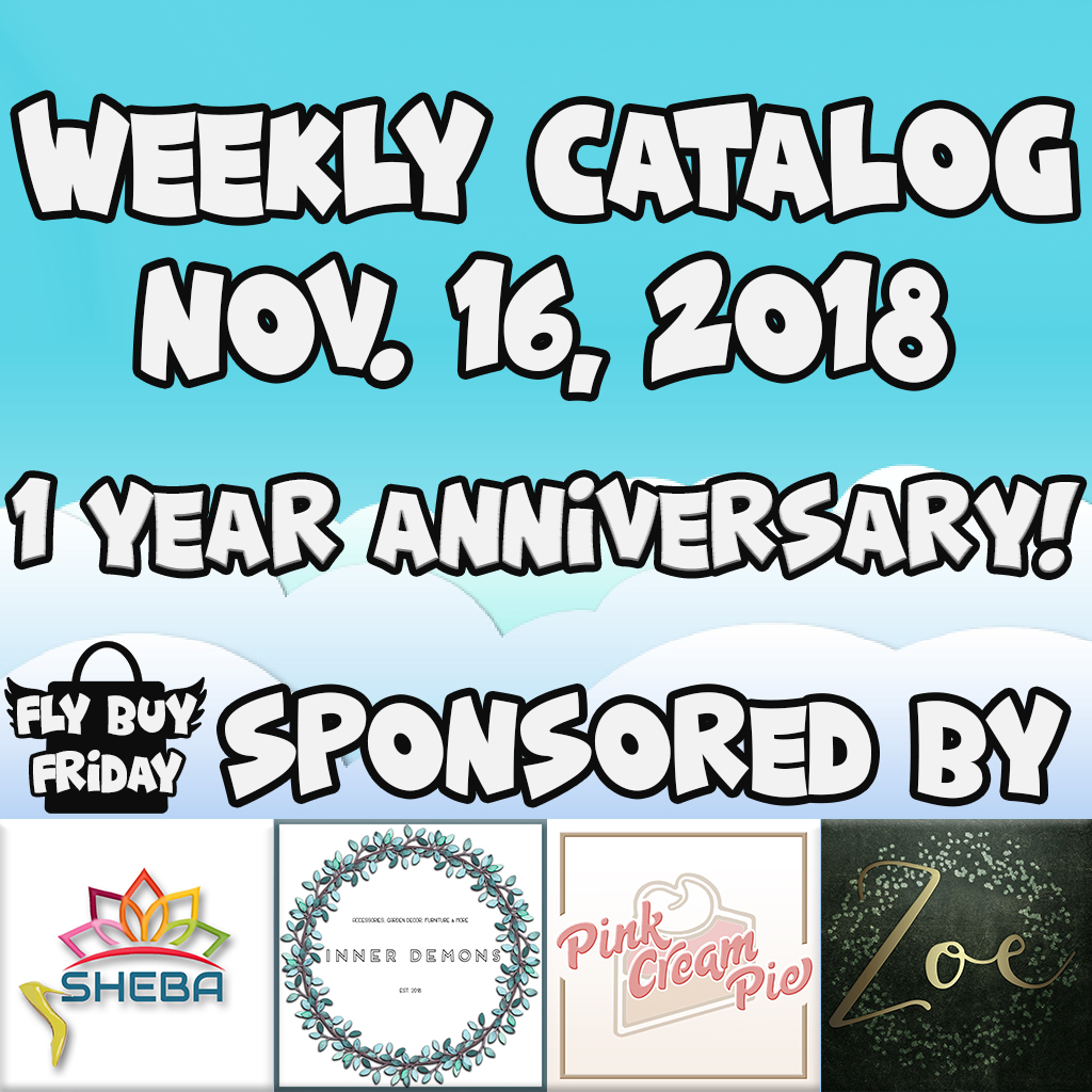 Fly Buy Fridays Catalog – November.16 – Anniversary Round
