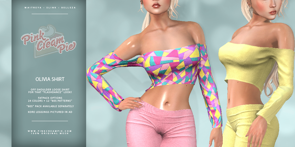 NEW RELEASE :: OLIVIA SHIRT