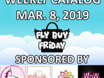 Fly Buy Fridays Catalog – March.8