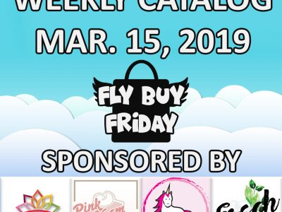 Fly Buy Fridays Catalog – March.15