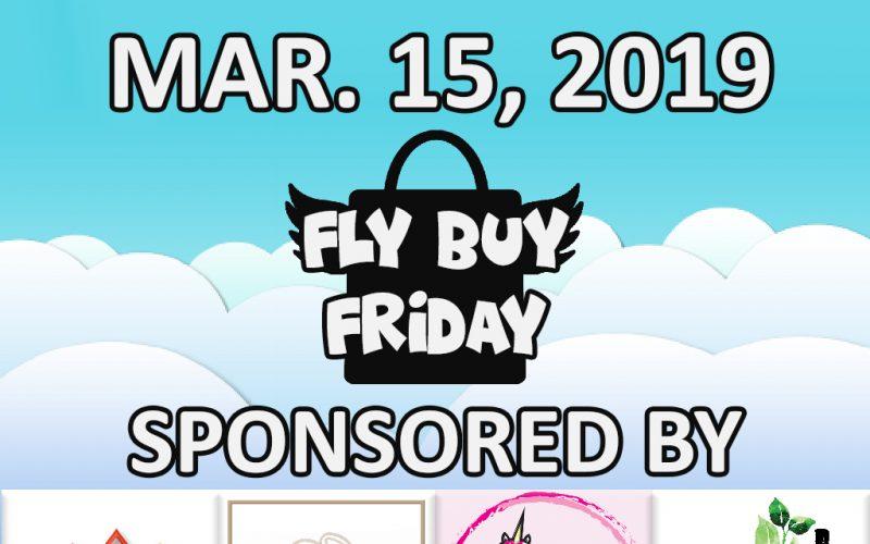 Fly Buy Fridays Catalog – March.15