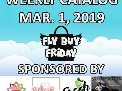 Fly Buy Fridays Catalog – March.1