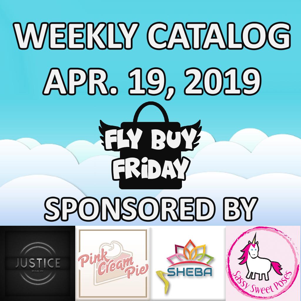 Fly Buy Fridays Catalog – April.19