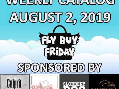 Fly Buy Fridays Catalog – August.2