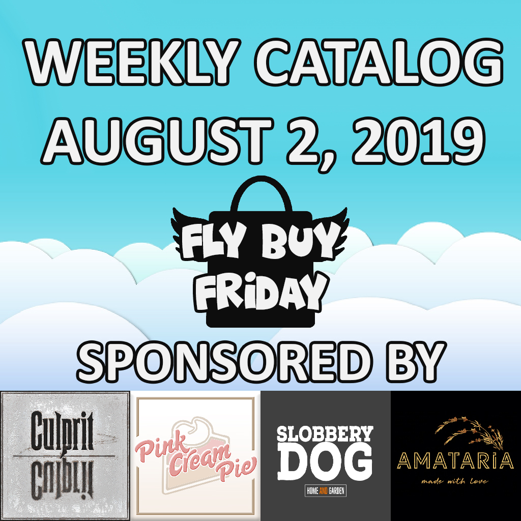 Fly Buy Fridays Catalog – August.2