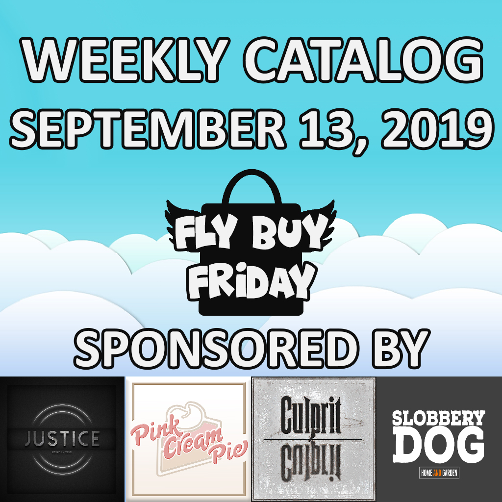 Fly Buy Fridays Catalog – September.13