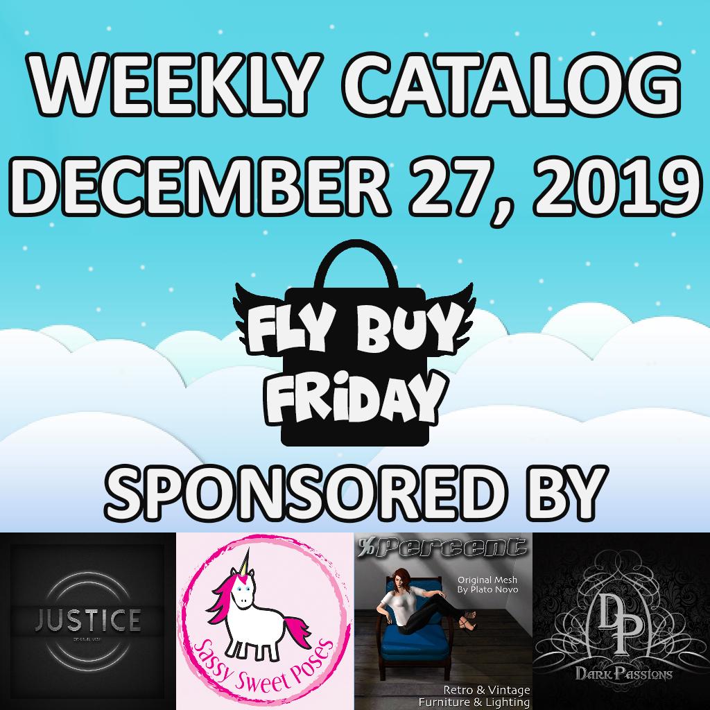 Fly Buy Fridays Catalog – December.27