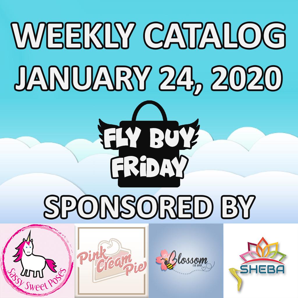 Fly Buy Fridays Catalog – January.24