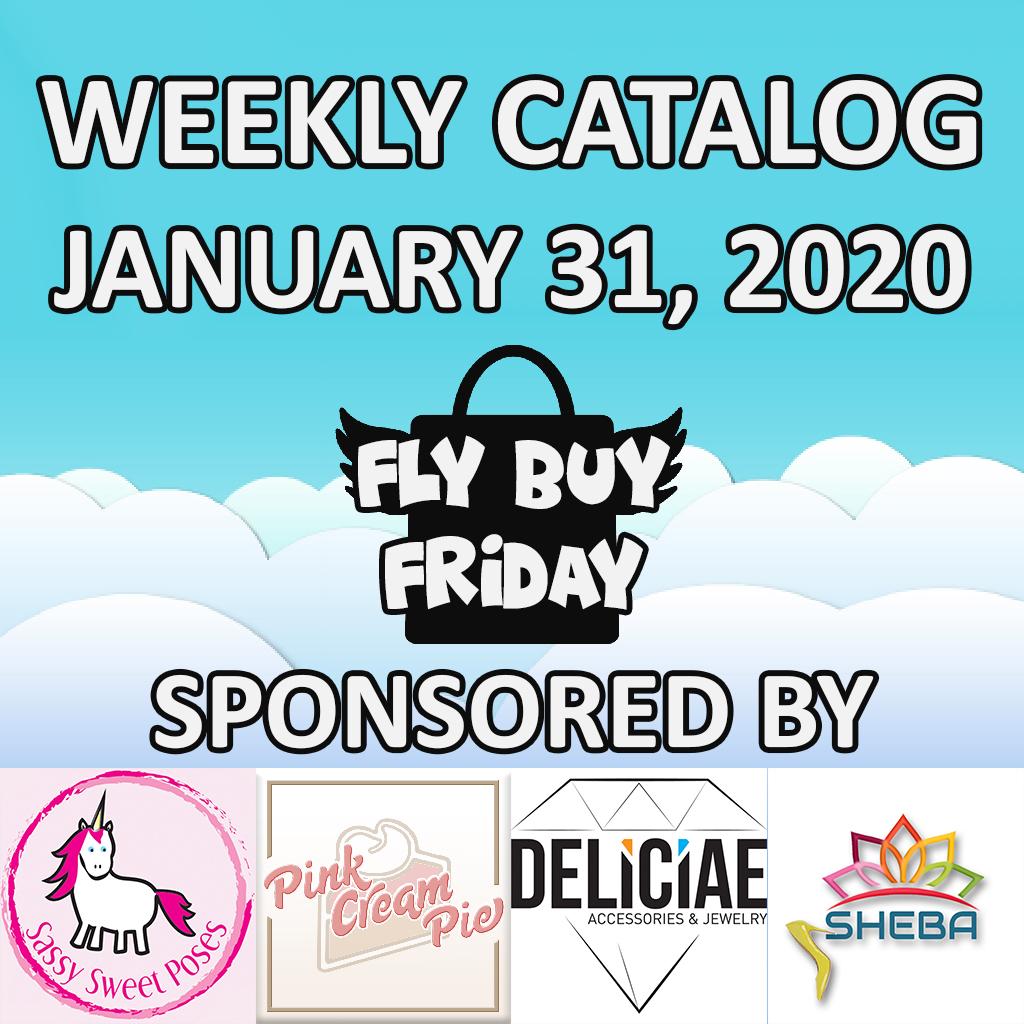 Fly Buy Fridays Catalog – January.31