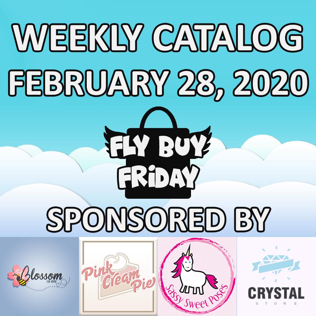 Fly Buy Fridays Catalog – February.28